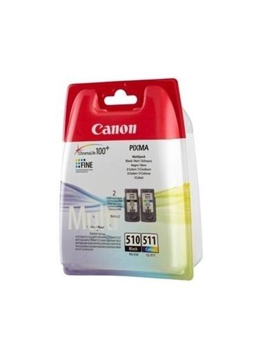 Canon Pg-510/Cl-511 Mürekkep Kartuş Multipack (2Li) Renkli